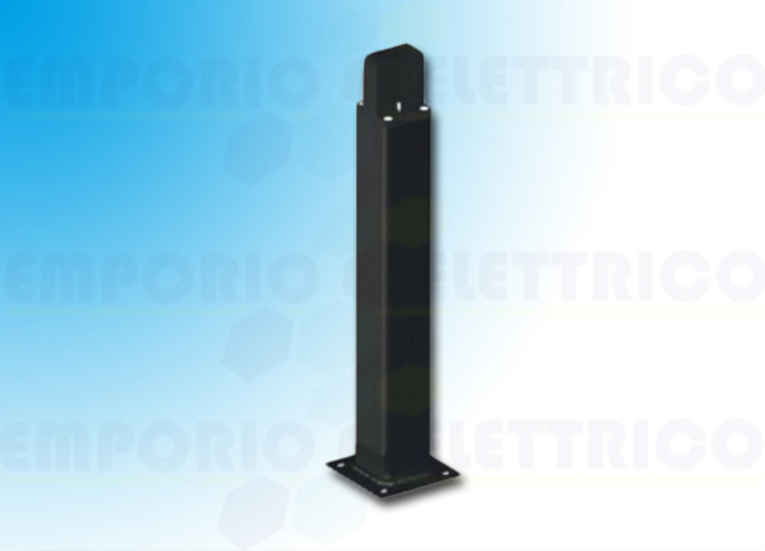 came bidirectional black aluminium post h=0,5 mt 001delta-bn delta-bn