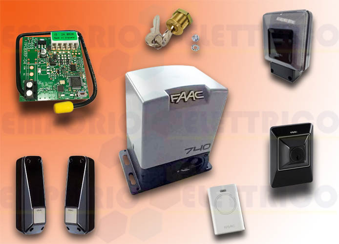 faac kit automatización 740 230v delta2 kit safe 1056303445