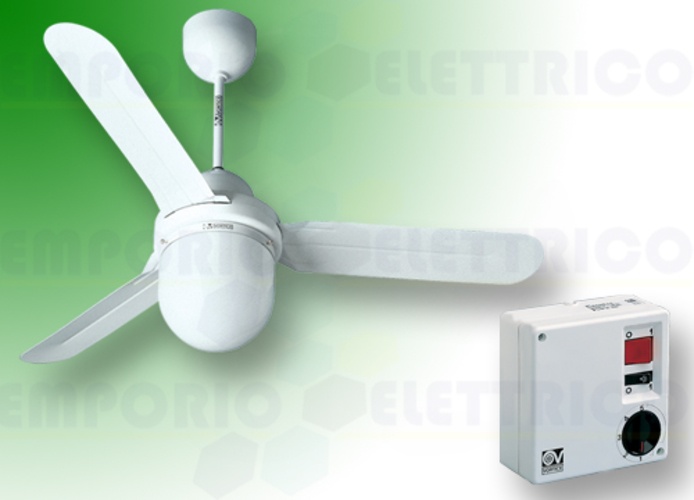 vortice white ceiling ventilator kit nordik design is/l 90/36 61001 ev61001a